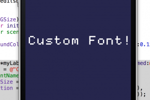 Custom Font in Emulator